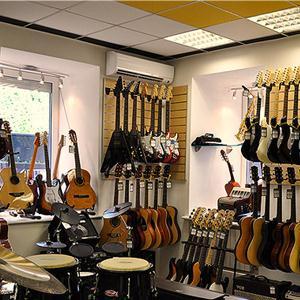 Музыкальные магазины Краснокамска