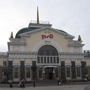 Железнодорожные вокзалы Краснокамска
